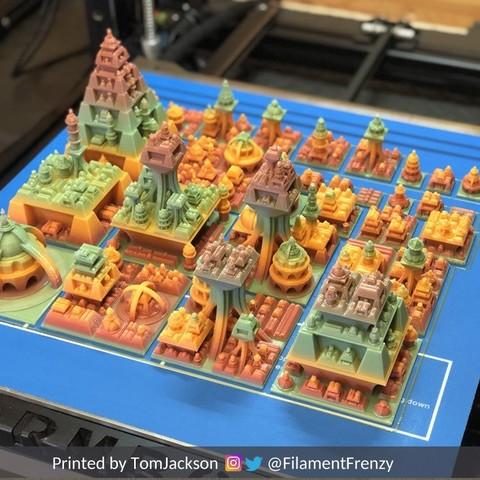 tom2.jpg Download free STL file Space Cities Generator • 3D print model, ferjerez3d