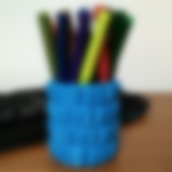 Download free 3D printer files Customizable Keyboard Penholder/Box, ferjerez3d