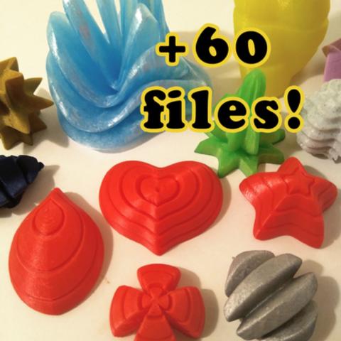 Download free STL file Supershape Madness • 3D printable model, ferjerez3d