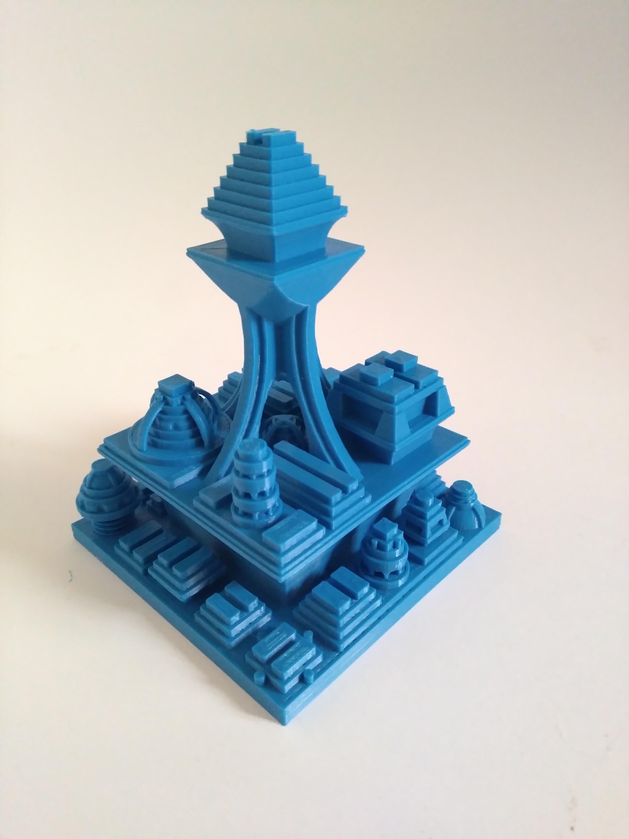 IMG_20180719_181038.jpg Download free STL file Space Cities Generator • 3D print model, ferjerez3d