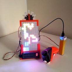 Download free STL file Proto-Tetris Machine, ferjerez3d