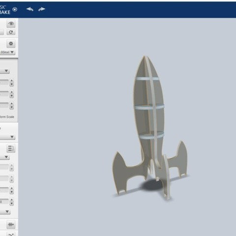 a9b740e635ce1efc236a5ffc52e0b3a9_preview_featured.jpg Download free STL file Sliced rocket • 3D printer object, ferjerez3d