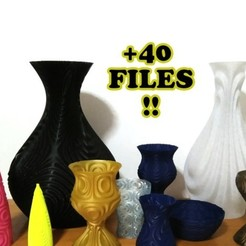 Download free 3D printing templates Yet Another Vase Factory, ferjerez3d