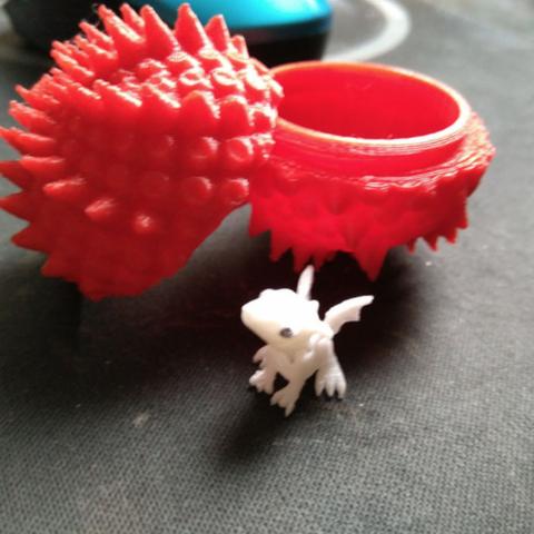 Capture d'écran 2018-07-18 à 10.50.35.png Download free STL file Dragon Egg Boxes • 3D print object, ferjerez3d