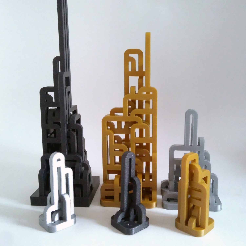 1.jpg Download free STL file Procedural Loops  • 3D print template, ferjerez3d