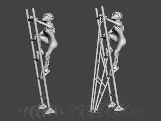 stairs.jpg Download free STL file Tow Walker • 3D print model, ferjerez3d