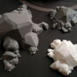 Download free STL files Rock Formation Generator, ferjerez3d
