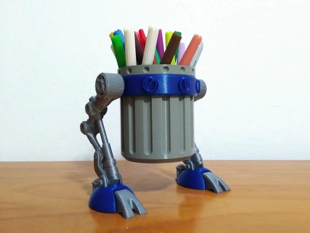 f3ccdd27d2000e3f9255a7e3e2c48800_preview_featured-1.jpg Télécharger fichier STL gratuit Marcheur de déchets • Design à imprimer en 3D, ferjerez3d