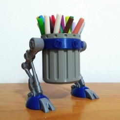 Free 3D model Trash Walker, ferjerez3d