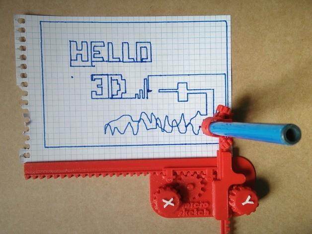 1d126907628b584cea8812a859681db4_preview_featured.jpg Download free STL file micro-sketch • 3D print design, ferjerez3d