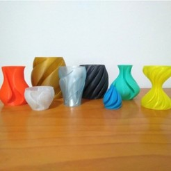 Free 3D printer designs Rippled Vase Factory, ferjerez3d