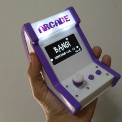 Free 3d printer model Arduino Arcade Bartop, ferjerez