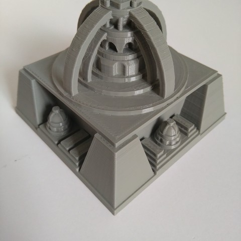 IMG_20180722_160930.jpg Download free STL file Space Cities Generator • 3D print model, ferjerez3d