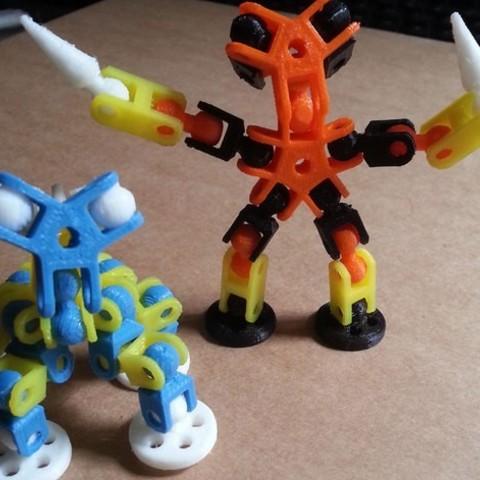 8b573bd87811a547fc3c4540c03574cb_preview_featured.jpg Download free STL file ChainClip. Robocreatures parts • 3D print object, ferjerez3d