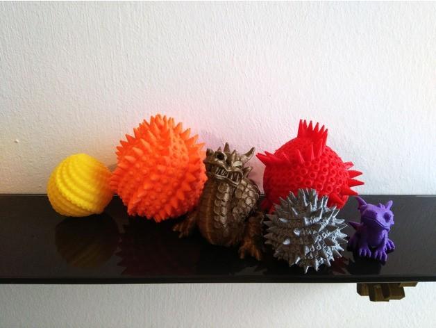 2217f6e6e5938324590fd0f7240ed770_preview_featured.jpg Download free STL file Dragon Eggs • 3D print design, ferjerez3d