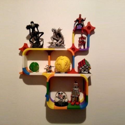 Free 3D printer designs Growing Shelf, ferjerez3d