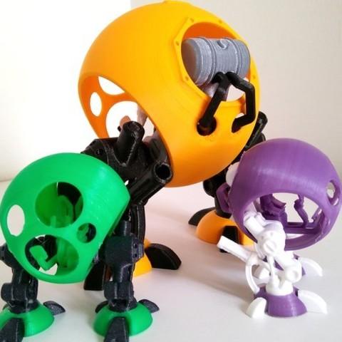 1d126907628b584cea8812a859681db4_preview_featured-7.jpg Download free STL file Pod Walker • 3D printing object, ferjerez3d
