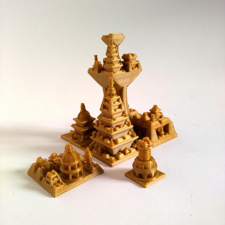 5-proceduralcities.jpg Download free STL file Space Cities Generator • 3D print model, ferjerez3d