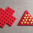 Download free STL file Peg solitaire • 3D printable design, ferjerez3d