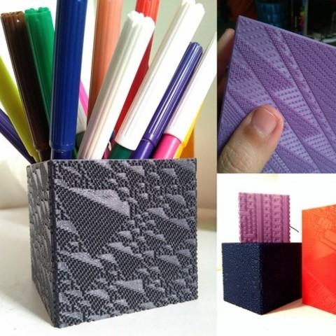 Télécharger plan imprimante 3D gatuit Wolfram's CA Cubes Collection, ferjerez3d