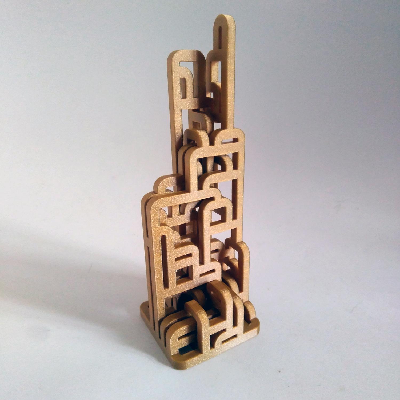 2.jpg Download free STL file Procedural Loops  • 3D print template, ferjerez3d