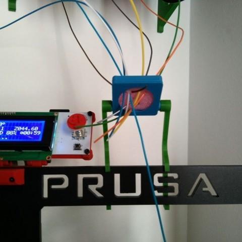 8b573bd87811a547fc3c4540c03574cb_preview_featured.jpg Télécharger fichier STL gratuit Filament Spool Wall Mount + Hub • Plan imprimable en 3D, ferjerez3d