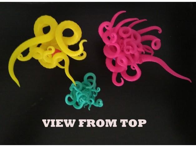 491cbe27353824f312fae66be17dd92d_preview_featured-1.jpg Download free STL file Plastic Reef #1: Random Anemone Generator • Object to 3D print, ferjerez3d