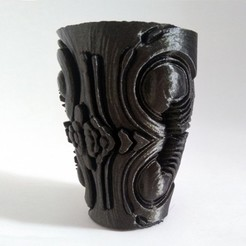 Download free 3D printing templates Alien Vase, ferjerez3d