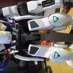 Download free STL files Anchorage for Gundam Barbatos lr, Curl_Rips