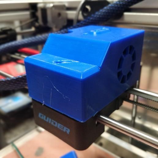 Télécharger fichier STL gratuit Couvercle d'extrudeuse Flashforge • Modèle imprimable en 3D, itech3dp