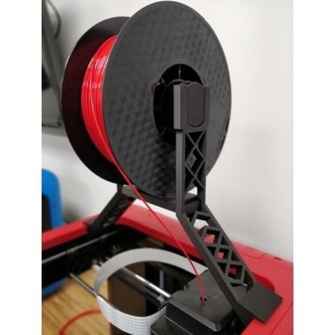 Free 3D printer designs Overhead Spool Holder - Flashforge Finder, itech3dp