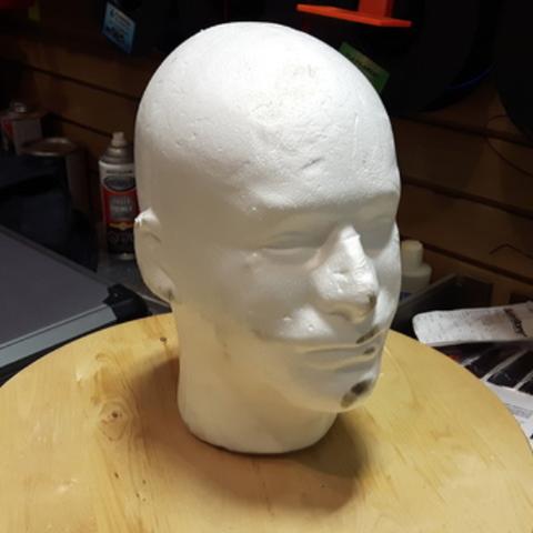 Free 3D model Mannequin Face (Man) ・ La Poste