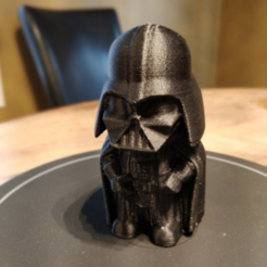 Download free STL files Mini Vader, itech3dp
