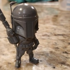 c1db49fcb3ee505f665880549e91f0dd_display_large.jpg Download free STL file Mini Bobba Fett • Template to 3D print, itech3dp