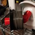 Télécharger plan imprimante 3D gatuit Flashforge Adventurer 3 Spool Adaptateur de bobine, itech3dp