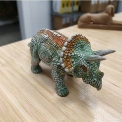 Download free 3D print files Triceratops, itech3dp