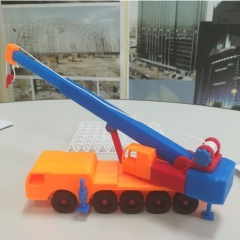 66e962c5be4f3a44e8ee7b4b17455a7d_preview_featured.jpg Download free STL file Mobile_Crane • Model to 3D print, alainritchieQ