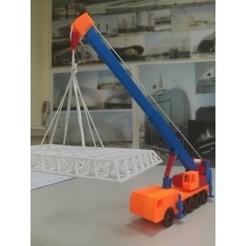 Free 3d model Mobile_Crane, alainritchieQ