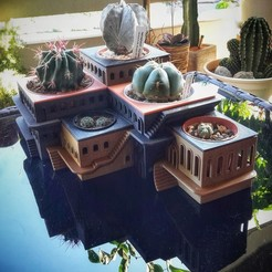 Free 3D printer designs CactusHotel, XoGuSi