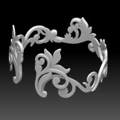 Télécharger fichier 3D Bracelet, Mayuri