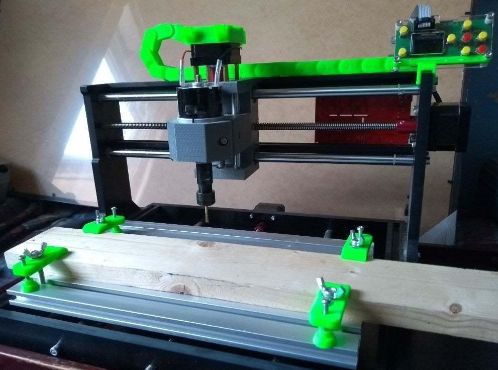 cnc_clamp2.jpg Download free STL file CNC 3018 Clamp set • 3D printing object, Sagittario