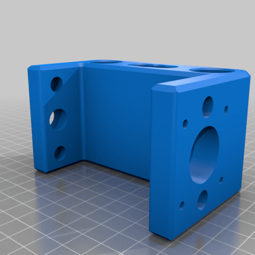 chamfered_rear_mount.png Download free STL file CNC 3018 pro Spindle parts • Template to 3D print, Sagittario