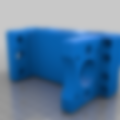 unchamfered_spindle_mount.stl Download free STL file CNC 3018 pro Spindle parts • Template to 3D print, Sagittario