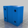 Download free STL file Linear Bearing holder IGUS compatible, updated! • 3D print design, Sagittario