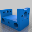 unchamfered_rear_mount.png Download free STL file CNC 3018 pro Spindle parts • Template to 3D print, Sagittario