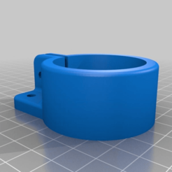 6d353b16e7e0d1514e193a183de47f6e.png Download free STL file Ikea Adils table leg or 40mm tube shelf bracket. • 3D printing model, Sagittario