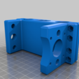 Rear_mount_72mm_LM10uu_spacing.png Download free STL file CNC 3018 pro Spindle parts • Template to 3D print, Sagittario