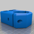 chamfered_spindle_mount.png Download free STL file CNC 3018 pro Spindle parts • Template to 3D print, Sagittario