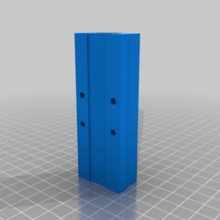 22a573390492b06012172ee0ebddc13c.png Download free STL file Super long LM8UU linear bearing holder (90mm) • 3D print object, Sagittario