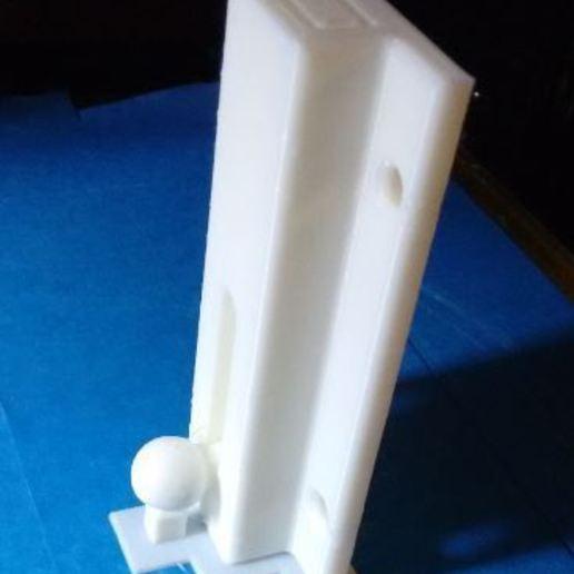 assembled_bolt_as_printed.JPG Télécharger fichier STL gratuit Verrou de porte coulissante Impression entièrement assemblée • Design à imprimer en 3D, Sagittario